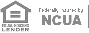 Equal Housing Lender. Federally Insured by NCUA.
