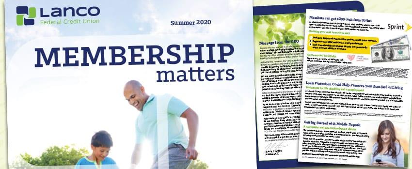 Membership matters banner