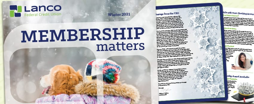 Membership matters newsletter